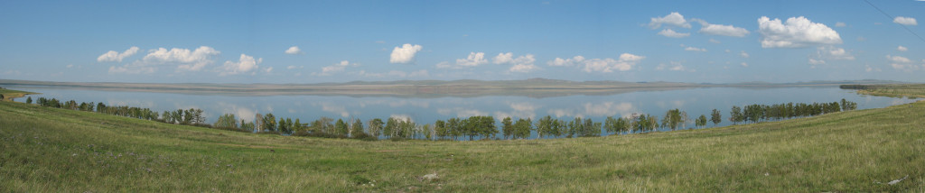 Shira lake panorama