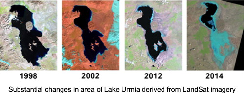 Lake Urmia How Iran S Most Famous Lake Is Disappearing
