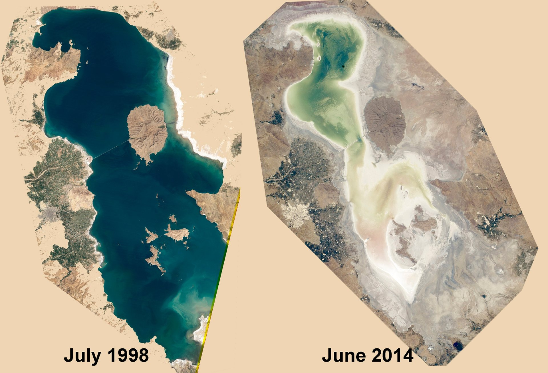 Lake Urmia Photograph: Kaveh Madani. Source: https://www.theguardian.com/world/iran-blog/2015/jan/23/iran-lake-urmia-drying-up-new-research-scientists-urge-action